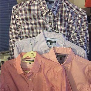 Banana republic men's shirt lot 4, sz m